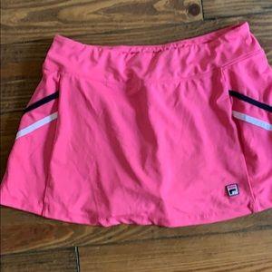 Fila women's athletic skirt size Large pink